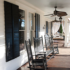 Cobblestone Mill - Exterior Wood Shutters & Blinds
