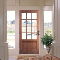 Woodgrain Distribution Exterior Glass Doors Lmc